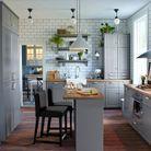 Cuisine IKEA esprit maison de vacances