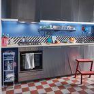 Cuisine IKEA colorée
