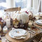 Une déco de table Halloween dans les tons automnales