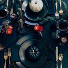 Une déco de table Halloween gothique