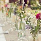 Des petits bouquets de fleurs