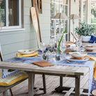 Choisissez des chemins de table pour le dressage