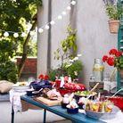 Servez-vous de cocottes colorées pour un buffet d'été