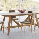 Table rallonges bois ampm