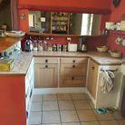 Verrière de cuisine semi-ouverte avant