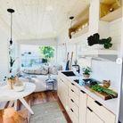 Tiny house en bois clair