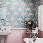 Salle de bains tropicale
