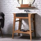 Un petit meuble vasque design