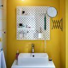 Une salle de bain à partager à deux