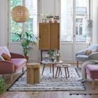 Canapé en velours La Redoute Interieurs