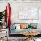 Choisir des couleurs claires pour réveiller un salon