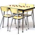 Table en formica vintage