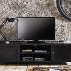 Un meuble TV 100% industriel