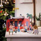 Crèche de Noël  en carton