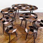 Table basse en bois stylée