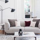 Canape moelleux beige design
