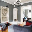 Une peinture gris perle pour mon salon