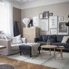 Adoptez le fauteuil en lin pour un salon cocooning
