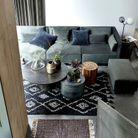 Multipliez les tapis pour un salon cocooning
