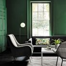 Salon vert Little Greene