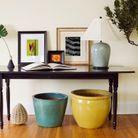 Utilisez le mobilier que vous possédez pour décorer votre entrée
