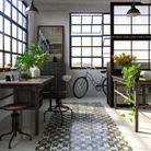 Séparer les espaces via différents revêtements au sol