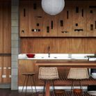 Une boule japonaise dans la cuisine