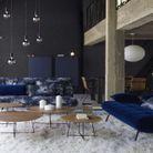 Un tapis en fausse fourrure pour une décoration cosy