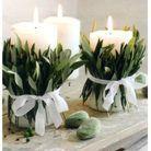 Customisez vos bougies en cadeau végétal pour votre maman