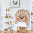 Un fauteuil Emmanuelle cocooning