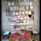 L'accumulation de livres de Caroline
