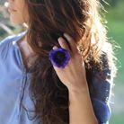 Idée n°12 pour un beau bouquet : une bague fleurie