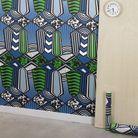 Papier peint esprit africain