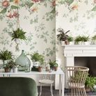Papier peint fleuri Little Greene