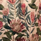 "Paris Deco Off 2019 : nouveau tissu Sanderson (""King Protea"" de la collection ""Glasshouse"")"