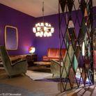 Mariage n°3 : violet, camel et orange brique par Emiliano Salci et Britt Moran, créateurs de DimoreStudio