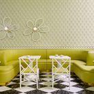Mariage n°4 : vert amande et vert citronnelle par India Mahdavi, architecte et designer