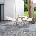 Une terrasse en pierre pour un effet authentique !