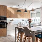 APRES #1: la même cuisine lumineuse et ouverte