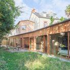 Maison d'architecte en bois à Nantes