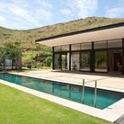 Villa design avec piscine en afrique du sud