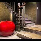 Esprit feutré pour la cage d'escalier