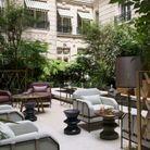 Hôtel de Crillon : la cour Gabriel