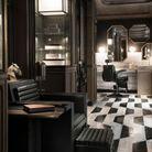 Hôtel de Crillon : salon barbier et cireur