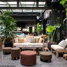 Hôtel National des Arts et Métiers : le patio