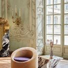 Miroir psyché « Soul », chaise « All Around », et table « Shout »