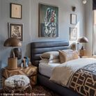 Une chambre entre art primitif et design