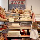 Decoration shopping visite tendance londres vintage sarah bagner cloth shop