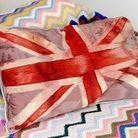 Decoration shopping visite tendance londres vintage sarah bagner coussin