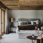 Une chambre de chalet comme un cocon